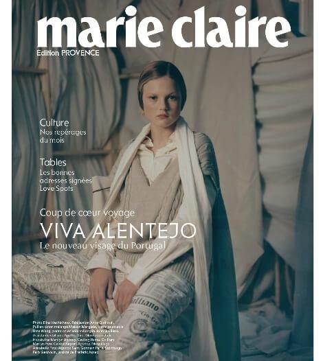 page magazine Marie-claire Mars 2019 édition provence côte d'azur