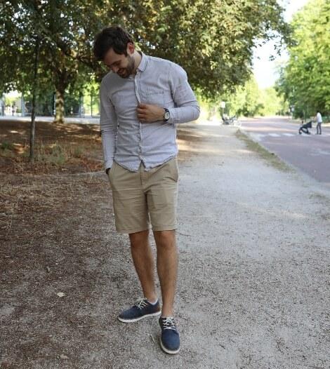 Kévin, blogger lifestyle a testé les chaussures Rieker