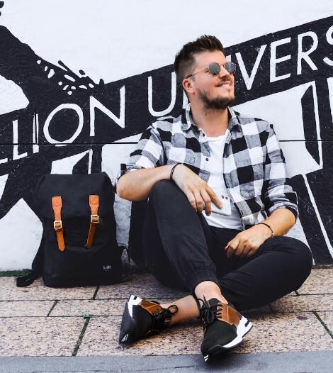 Blogger Florian Strabourg a essayé les chaussures baskets rieker B4761-00