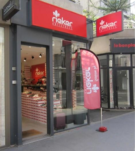 Chaussures Rieker Paris 14ème