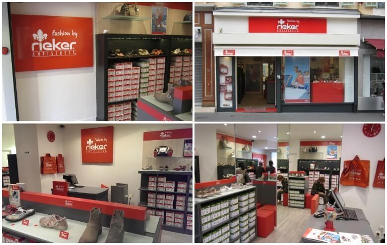 Photos magasin RIEKER de NICE au 20 avenue Borriglione.