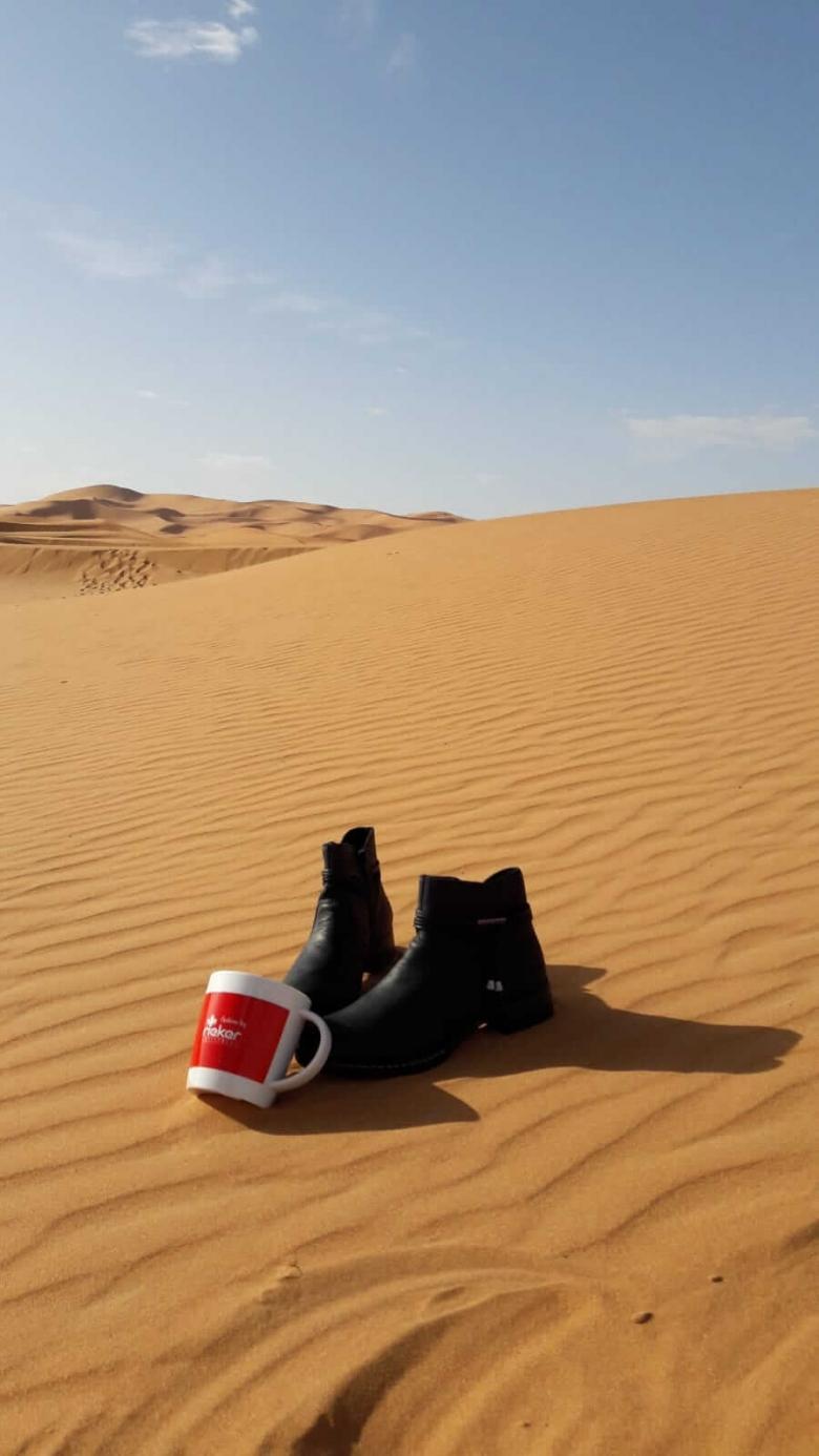 L'équipage 82 dans le désert avec Rieker