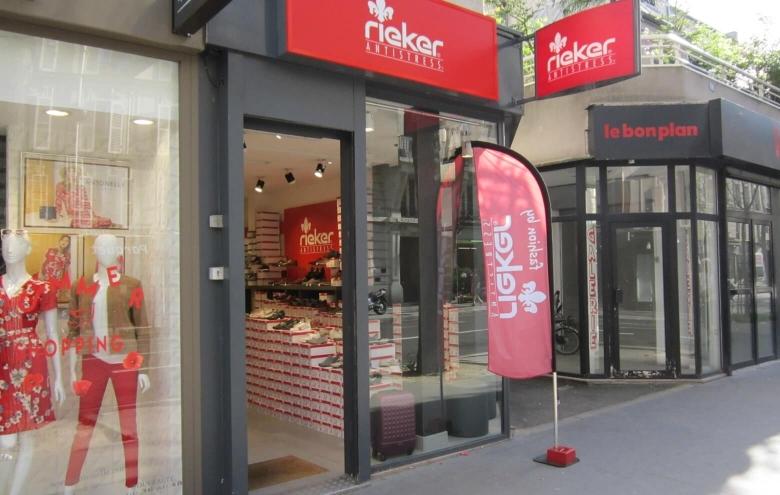 Chaussures Rieker – Paris 14ème