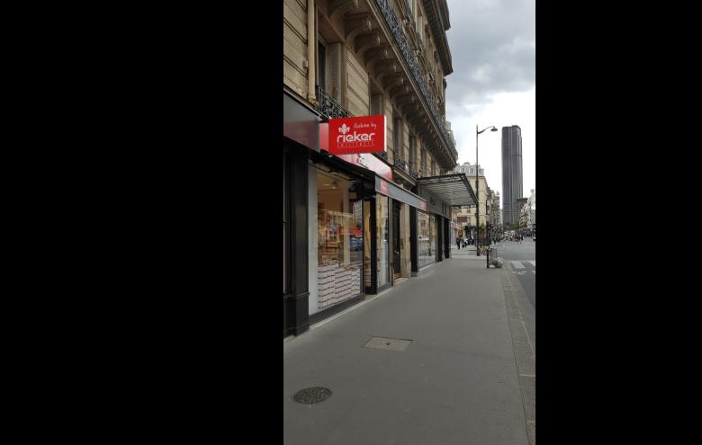 Magasin Rieker Rue de Rennes Paris