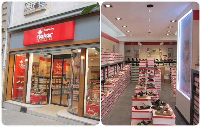 Rieker Bourges à gauche et Rieker Paris Vaugirard à droite