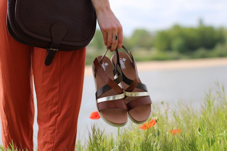 sandale V5073-24 Collection printemps-été 2021 - partenariat avec Zozomum
